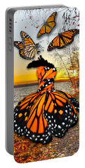 Portable Battery Charger featuring the mixed media The Wonder Of You by Marvin Blaine