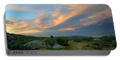 The Wonders Of Sunset Portable Battery Charger by Glenn McCarthy Art and Photography