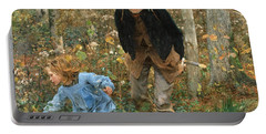 The Wood Gatherer Portable Battery Charger