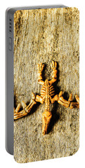 The Wooden Pterosaur Portable Battery Charger