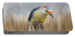 The Woodpecker Portable Battery Charger