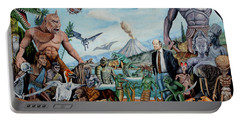 The World Of Ray Harryhausen Portable Battery Charger