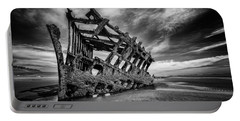 The Wreck Of The Peter Iredale Portable Battery Charger