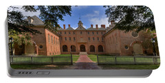 The Wren Building At William And Mary Portable Battery Charger
