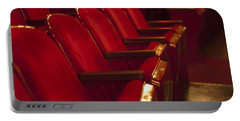 Portable Battery Charger featuring the photograph Theater Seating by Carolyn Marshall