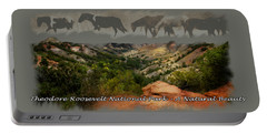 Theodore Roosevelt National Park Portable Battery Charger