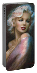 Theo's Marilyn Ww Blue Portable Battery Charger