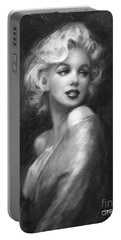 Theo's Marilyn Ww Bw Portable Battery Charger