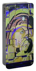 Theotokos II Portable Battery Charger by Sandy McIntire