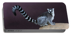 Portable Battery Charger featuring the photograph Thereby Hangs A Tail by Debi Dalio
