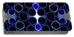 There's Music In The Air Portable Battery Charger by Lori Kingston