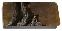 These Boots Are Made For Walking Portable Battery Charger