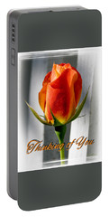 Thinking Of You, Rose Portable Battery Charger