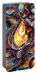 Third Eye - Abstract Portable Battery Charger by Harsh Malik