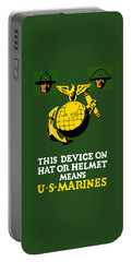 This Device Means Us Marines  Portable Battery Charger