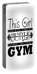 This Girl Gets Her Curls Done At The Gym Portable Battery Charger