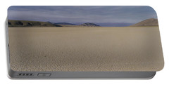 This Is A Dry Lake Pattern Portable Battery Charger