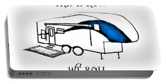 This Is How We Roll     Rv Humor Portable Battery Charger