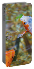 Portable Battery Charger featuring the photograph This Is Mine Fish by Raphael Lopez