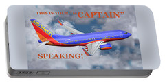This Is Your Captain Speaking Southwest Airlines Portable Battery Charger