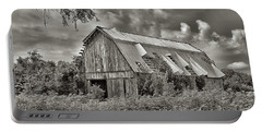This Old Barn Portable Battery Charger by Don Spenner
