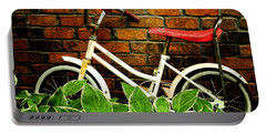 This Old Bicycle Portable Battery Charger by James C Thomas