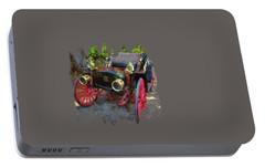 Portable Battery Charger featuring the photograph This Old Car by Thom Zehrfeld