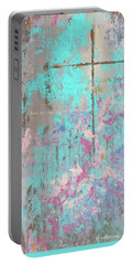 This Side Of The Cross Portable Battery Charger by Karen Kennedy Chatham