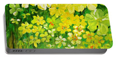 This Summer Fields Of Flowers Portable Battery Charger