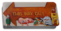 This Way Out Portable Battery Charger by Jean Cormier