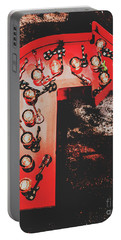This Way To Rock City Portable Battery Charger