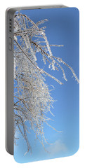 This Willow Don't Bend Portable Battery Charger by Susan Duda