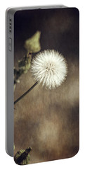 Portable Battery Charger featuring the photograph Thistle by Carolyn Marshall