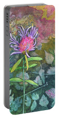 Thistle Portable Battery Charger by Nancy Jolley
