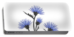 Thistle With Leaves Portable Battery Charger