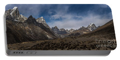 Portable Battery Charger featuring the photograph Thokla Pass Nepal by Mike Reid