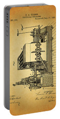 Thomas Edison Generator Patent Portable Battery Charger by Dan Sproul