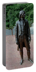 Thomas Jefferson At Monticello Portable Battery Charger