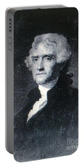 Portable Battery Charger featuring the photograph Thomas Jefferson by Richard W Linford