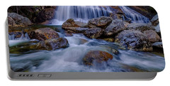 Thompson Falls, Pinkham Notch, Nh Portable Battery Charger