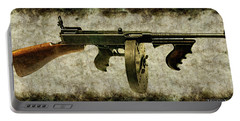 Thompson Submachine Gun 1921 Portable Battery Charger