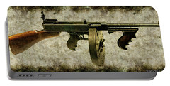 Thompson Submachine Gun 1921 Portable Battery Charger