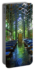 Thorncrown Chapel Serenity Portable Battery Charger