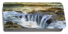 Thor's Well - Oregon Coast Portable Battery Charger