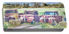 Three 1940 Ford Pickups For Sale Portable Battery Charger