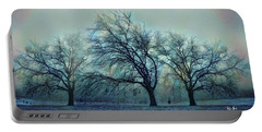 Three Bare Trees Portable Battery Charger