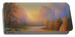 Yosemite National Park Portable Battery Charger by Joe Gilronan