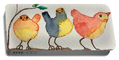 Three Birds  Portable Battery Charger
