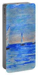 Three Boats Portable Battery Charger by Jamie Frier