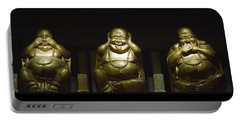 Three Buddhas Portable Battery Charger